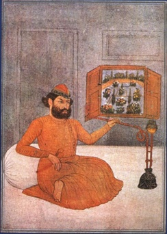 Mir Taqi Mir (1723–1810) (Urdu: میر تقی میر‬‎) was the leading Urdu poet of the 18th century in the courts of Mughal Empire and Nawabs of Awadh