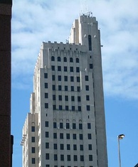 PNC Bank Building, formerly the Ohio Bank Building. Built in 1932, it is the 3rd tallest in Toledo.