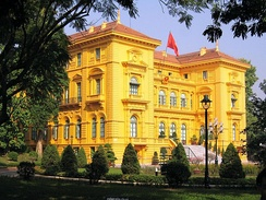 The Presidential Palace in Hanoi, formerly the Palace of The Governor-General of French Indochina.