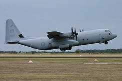 RAAF C-130J-30 at Point Cook, 2006