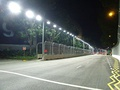 The Raffles Avenue after Turn 14