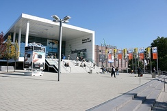 South Entrance of the Cologne Trade Fair during Photokina 2008