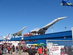 The Sinsheim Auto & Technik Museum in Germany is the only location where both Concorde and the Tu-144 are displayed together.