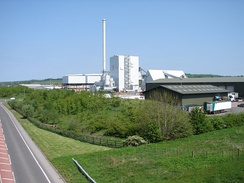 Biomass plant in Scotland.