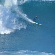 Very big surf in La Jolla, California