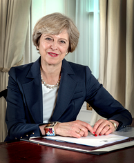 Theresa May, Prime Minister of the United Kingdom (2016–present)