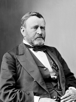 A photograph of President Grant during the 1870s