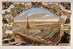 General view of the Exposition Universelle