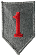 The shoulder sleeve insignia (SSI) worn on a unit member's UCP Army Combat Uniform