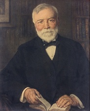 Scottish immigrant Andrew Carnegie led the enormous expansion of the American steel industry in the late 19th century.