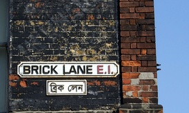 Large numbers of Bangladeshis settled and established themselves in Brick Lane