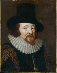 Francis Bacon, pioneer of modern scientific thought.