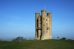 Broadway Tower, one of several Worcestershire follies