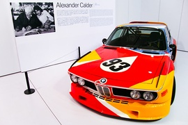3.0 CSL painted by Alexander Calder