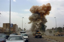 Car bombings are a frequently used tactic by insurgents in Iraq.