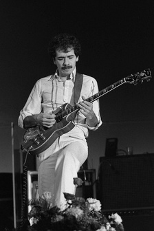 Santana during his European tour in the Netherlands in 1978