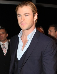 Chris Hemsworth, Australian actor.