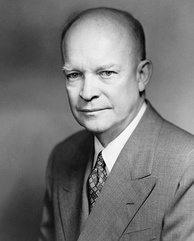 Dwight D. Eisenhower, the incumbent president in 1960, whose term expired on January 20, 1961
