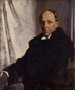 Lord Robert Cecil by Sir William Orpen