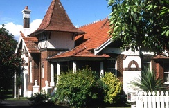 'Vallambrosa', a Queen Anne Style house located at 19 Appian Way in the Sydney suburb of Burwood