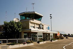 Grenchen Airport tower