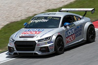 An Audi TT Cup competing in the 2015 TCR International series in 2015