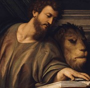 Mark the Evangelist by Il Pordenone (c. 1484 – 1539).