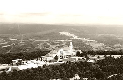 The Lookout Mountain Hotel on Lookout Mountain, Georgia, now home to Covenant College