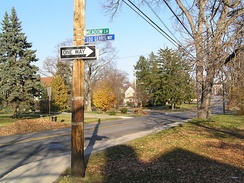 Lou Gehrig Way in New Rochelle, New York: He lived in a modest home at 9 Meadow Lane in the Residents Park section near the College of New Rochelle.