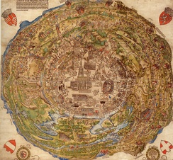 Map of Vienna from 1530