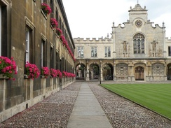 Peterhouse was the first college to be founded in the University of Cambridge
