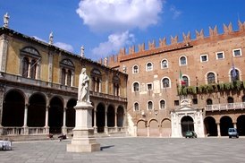 Palazzo del Governo is the seat of the Province of Verona