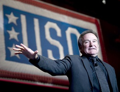 Williams performing at the 2008 USO World Gala in Washington, D.C. on October 1, 2008