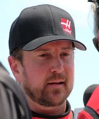 Kurt Busch (pictured in 2015) took his 19th career victory after leading a race high 234 laps