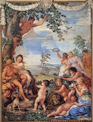 The Golden Age by Pietro da Cortona (Palazzo Pitti, Florence, Italy).