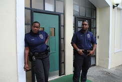 USVI police officers in 2012
