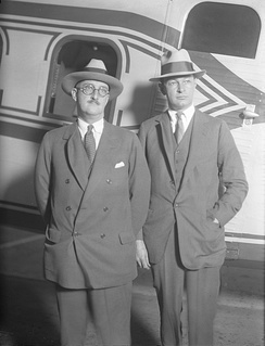 Boeing and Fred Rentschler, 1929