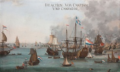 Attack on the Medway during the Second Anglo-Dutch War, June 1667