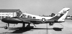 Cessna U-3A Blue Canoe about 1970
