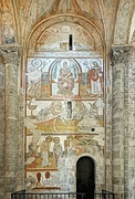 Romanesque paintings.