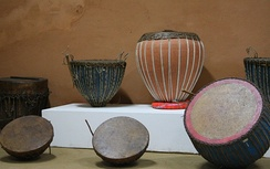 Some drums of central India that look like tabla, but they do not have Syahi which creates the unique Tabla sound.