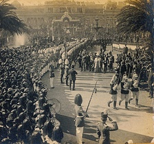 The Argentina Centennial was celebrated on 25 May 1910.