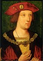 Arthur Tudor, Prince of Wales, eldest son, first husband of Catherine of Aragon; predeceased father without progeny.