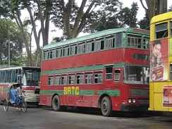 Double-decker bus of BRTC