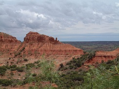 Caprock Canyons of Briscoe County.