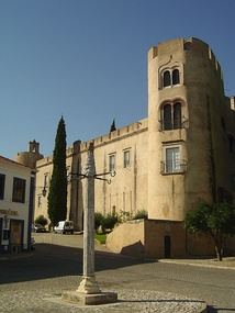 Pousada de Alvito, installed in a medieval fortified palace