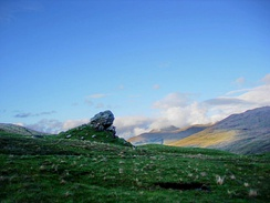 Clach nam Breatann, Glen Falloch, perhaps the northern edge of Strathclyde