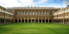 The Wren Library at Nevile's Court