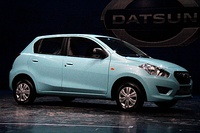 Datsun Go launch in New Delhi, India (front)