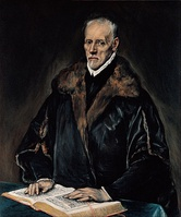 El Greco, Portrait of Dr Francisco de Pisa, c. 1610-1614